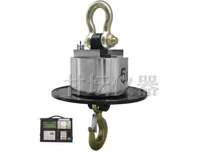 防雨水30吨电子吊秤供应.配小推车